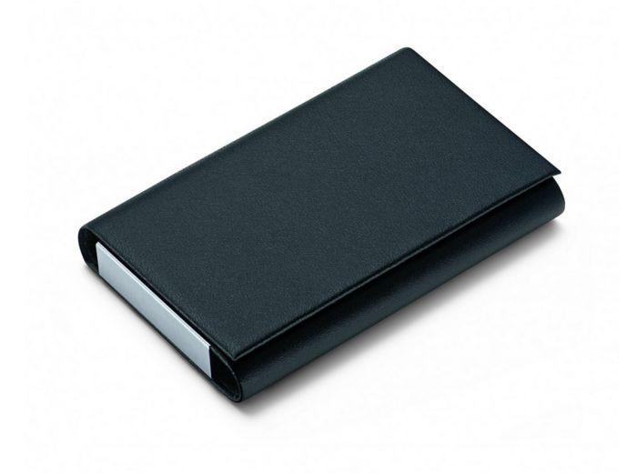 Футляр для визитных карт Flip, черный