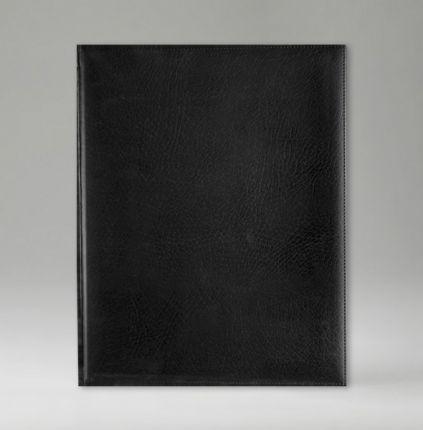 Еженедельник датированный 21х26 см, серия Классик, материал Элефант, (арт. 365), цвет черный