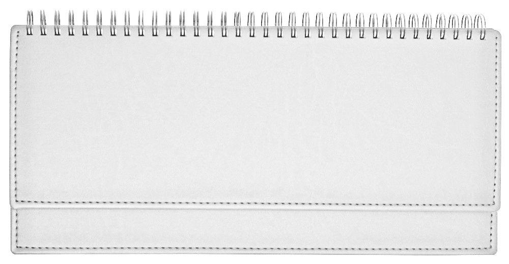 Планинг недатированный (11.161-White), Вивелла, 30,3x15 см, цвет белый, блок белый