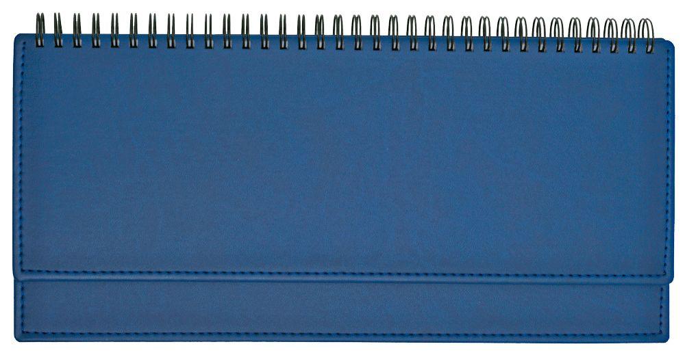 Планинг недатированный (11.161-4890), Вивелла, 30,3x15 см, цвет ярко-синий, блок белый