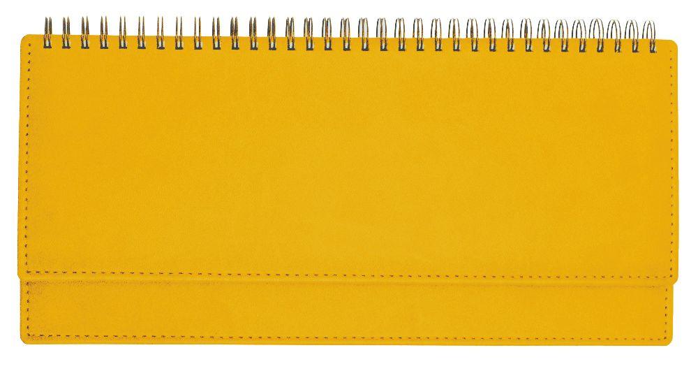 Планинг недатированный (11.161-Е280), Вивелла, 30,3x15 см, цвет ярко-желтый, блок белый
