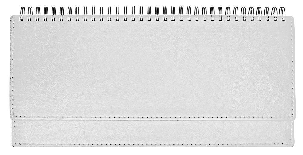 Планинг недатированный (11.161-077), Небраска, 30,3x15 см, цвет белый, блок белый