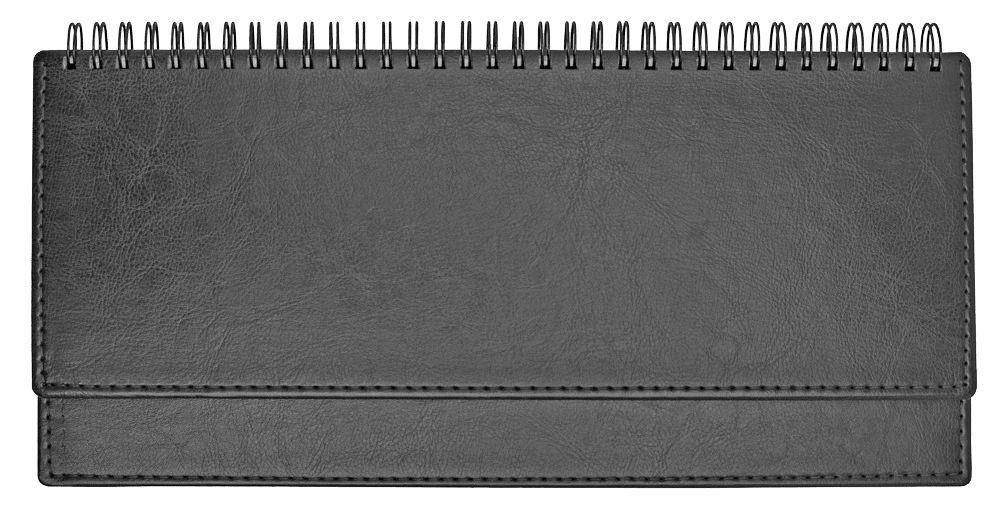 Планинг недатированный (11.161-D135M), Небраска, 30,3x15 см, цвет серебро, блок белый
