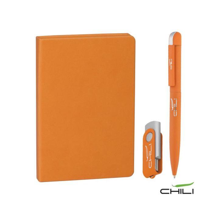 """Подарочный набор """"Сорренто"""", цвет оранжевый"""