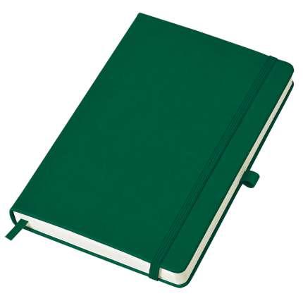 """Бизнес-блокнот, бренд """"thINKme"""", коллекция """"Justy"""", формат A6, твёрдая обложка, в клетку, зелёный"""