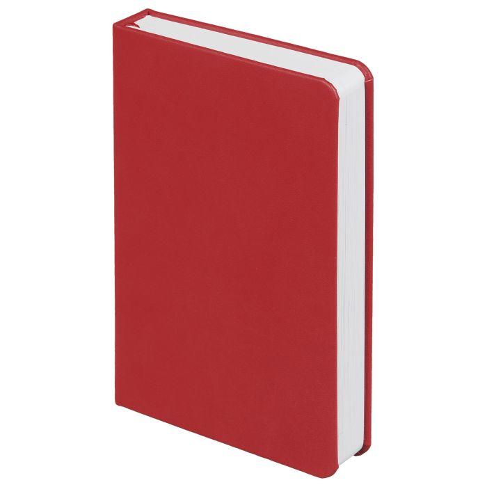 Ежедневник недатированный Basis Mini, размер 10х16 см (формат A6), цвет красный
