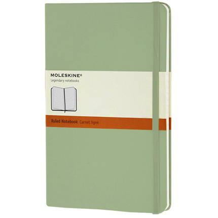 Записная книжка Classic, Large, формат A5 (блок в линейку), цвет фисташковый