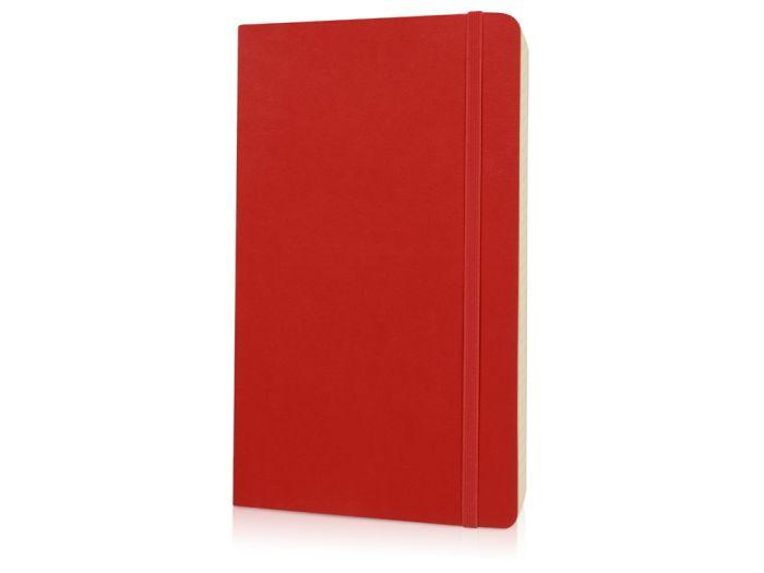 Записная книжка Classic Soft, формат A5 (блок в линейку), цвет красный