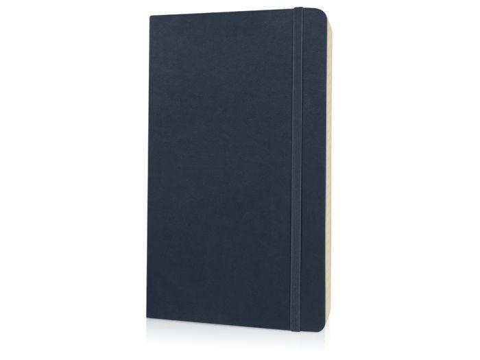 Записная книжка Classic Soft, формат A5 (блок в линейку), цвет синий