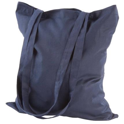 Холщовая сумка Basic 105, тёмно-синяя