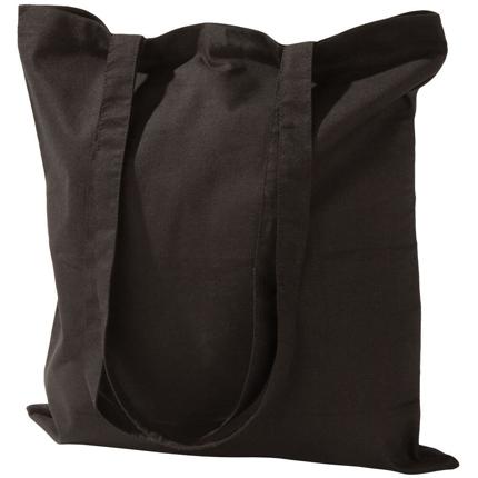Холщовая сумка Basic 105, чёрная
