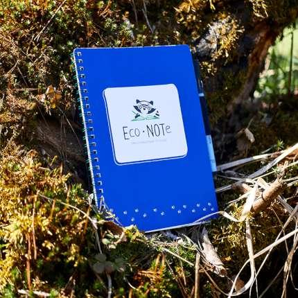 "Многоразовая тетрадь ""EcoNOTe"", синяя"