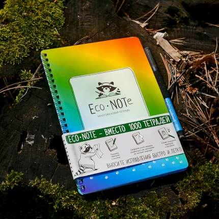 """Многоразовая тетрадь """"EcoNOTe"""", мультицвет"""