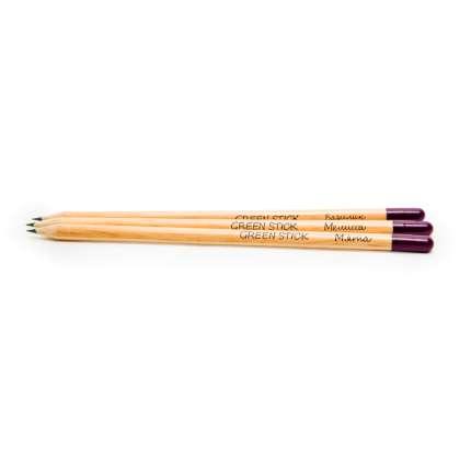 """Набор из 3 чернографитных карандашей  """"Растущий карандаш Пряные травы"""""""