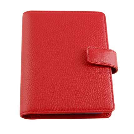 Визитница карманная Neri Karra, красная. Корпоративная коллекция