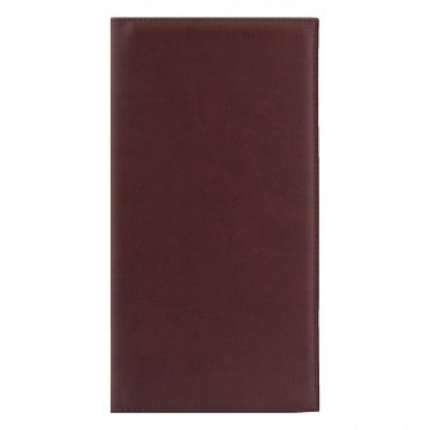 Визитница NG Velvet, 130х240 мм, 72 карты, коричневая