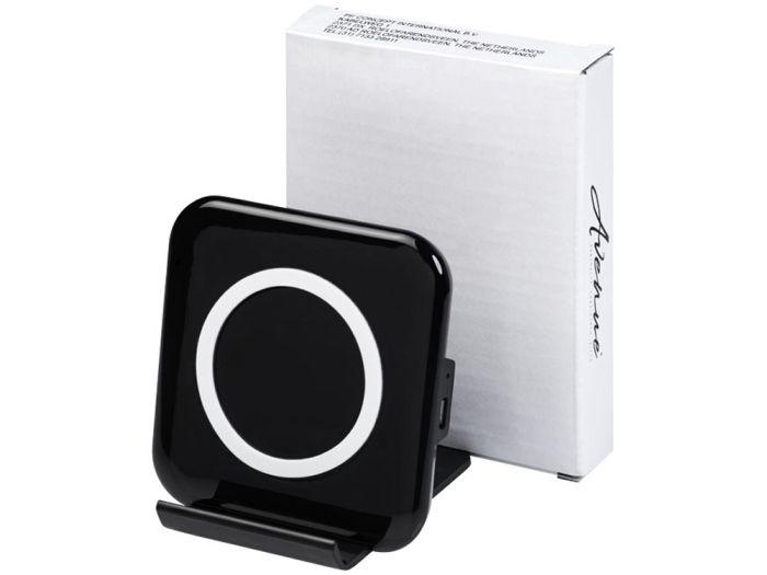 """Беспроводное зарядное устройство-подставка для смартфона """"Catena"""", цвет чёрный"""