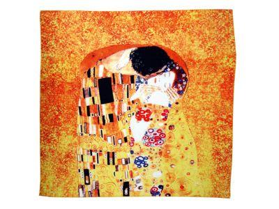 """Набор: платок, складной зонт """"Климт. Поцелуй"""""""
