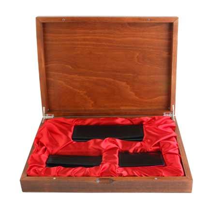 Женский подарочный набор Neri Karra из 3 предметов, чёрно-розовый