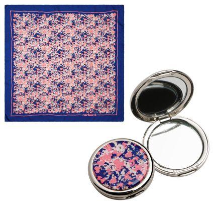 Подарочный набор Cacharel: зеркало, шелковый платок