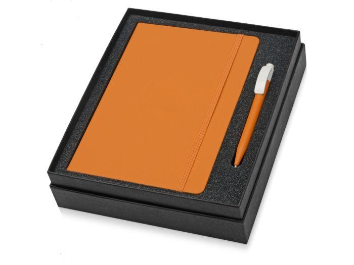 Набор Uma Vision: ручка и блокнот А5, цвет оранжевый