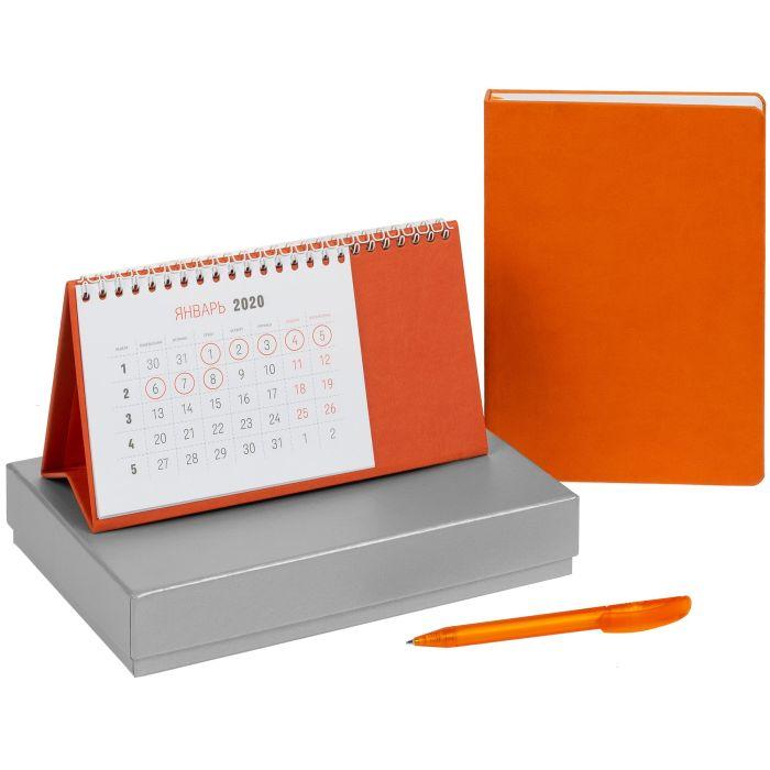 """Набор подарочный """"Проверено временем"""", цвет оранжевый"""