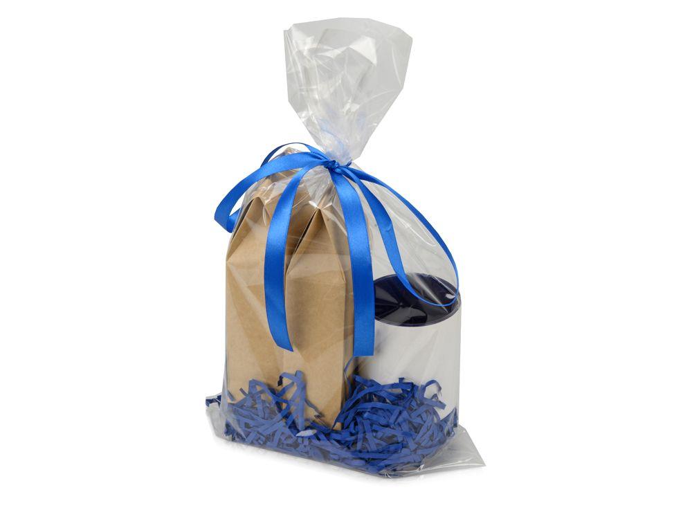 """Подарочный набор """"Tea room"""" с двумя видами чая, синий"""
