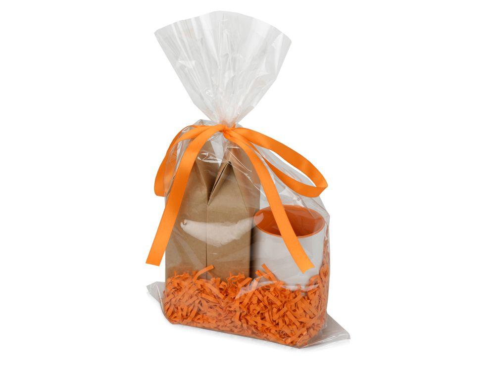 """Подарочный набор """"Tea room"""" с двумя видами чая, оранжевый"""