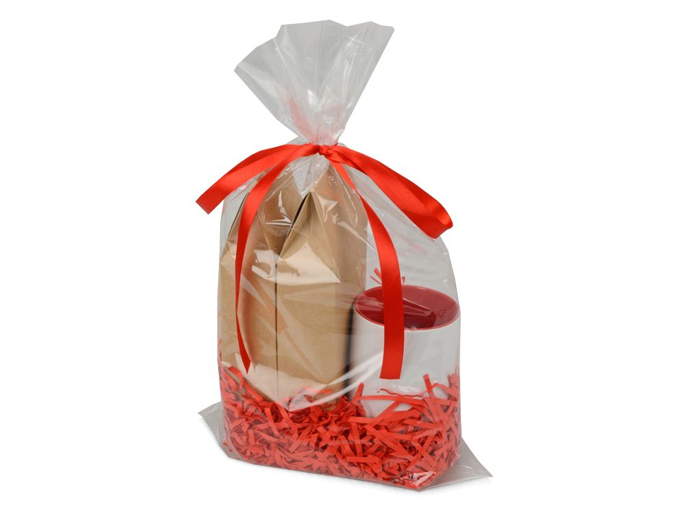 """Подарочный набор """"Tea room"""" с двумя видами чая, красный"""