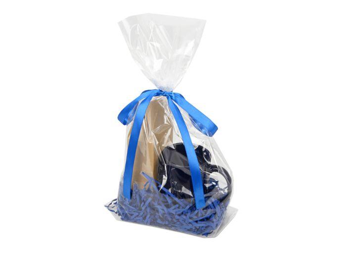 """Подарочный набор """"Kvelly"""" с чаем, цвет синий"""