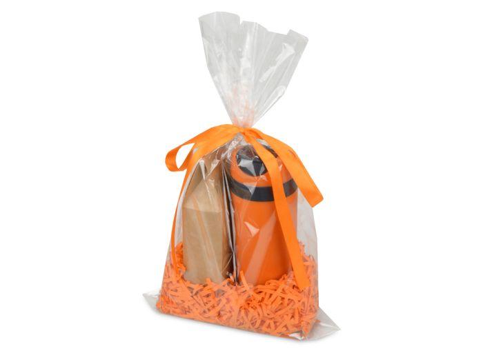 """Подарочный набор """"Levita"""" с чаем, цвет оранжевый"""