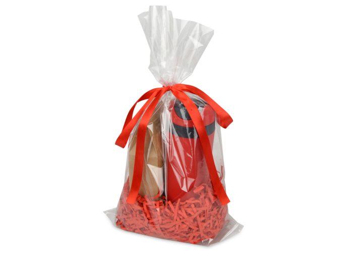 """Подарочный набор """"Levita"""" с чаем, цвет красный"""