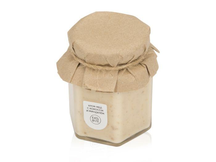 Крем-мёд с кокосом и миндалём, 390 мл