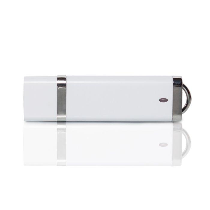 Флешка PL003 (белый) с чипом 1 гб. USB 2.0