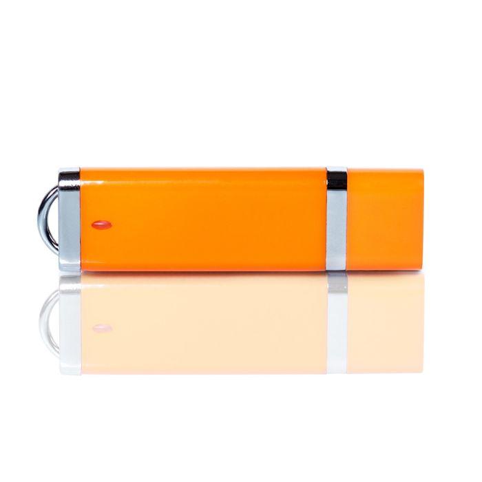 Флешка PL003 (оранжевый) с чипом 1 гб. USB 2.0
