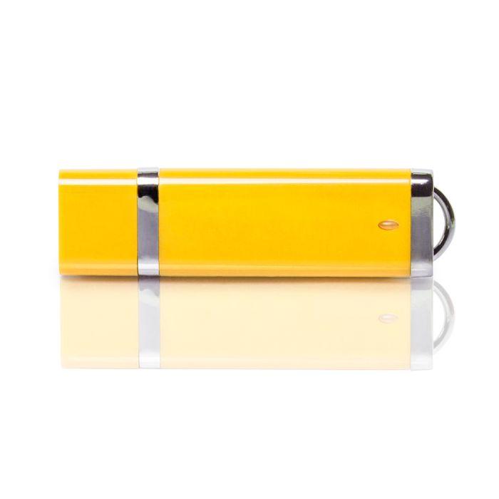 Флешка PL003 (желтый) с чипом 1 гб. USB 2.0