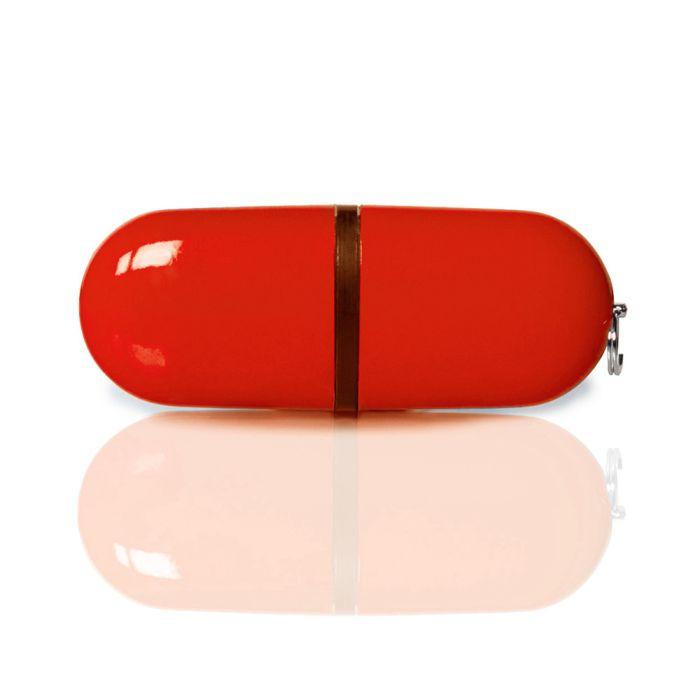 Флешка PL004 (красный)  1 гб. USB 2.0