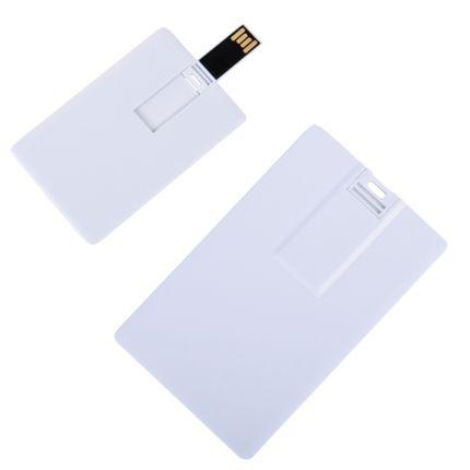"USB flash-карта ""Card"" ( 8 Gb), цвет белый"