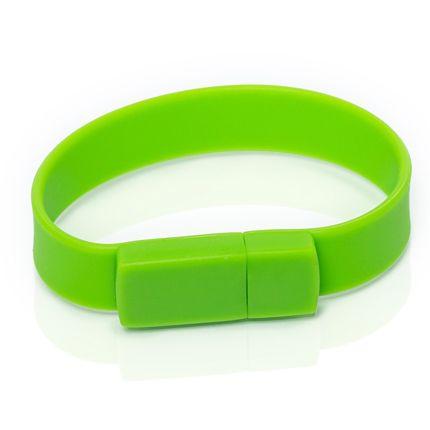 USB-Flash накопитель (флешка), модель S001, объем памяти 16 Gb, цвет зеленый