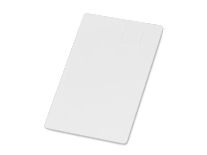 """USB-флешка на 16 Гб """"Card"""" в виде пластиковой карты"""