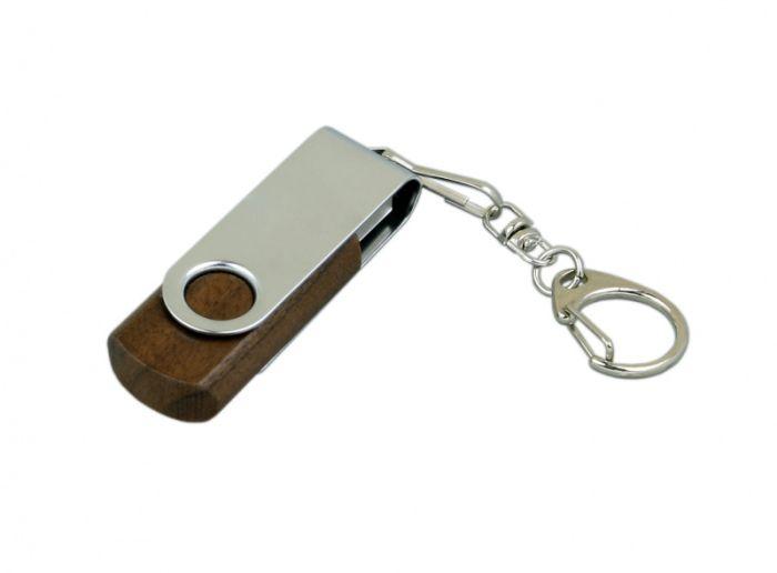 Флеш-накопитель промо поворотный механизм 16Гб,  Красный, USB2.0