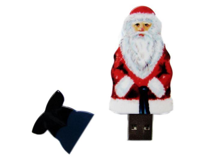 Флешка Santa. 16 Гб. Белый, USB2.0
