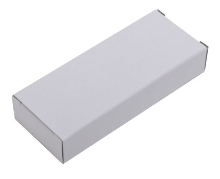 Коробка под USB flash-карту, размер 8х3,5х1,5 см, белая