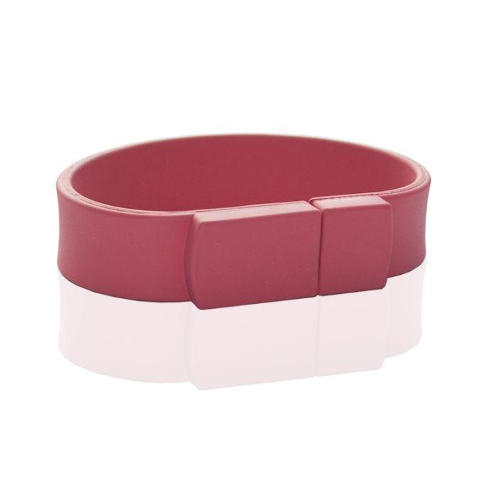 Флешка в виде браслета (розовый 7423 c)  32 гб