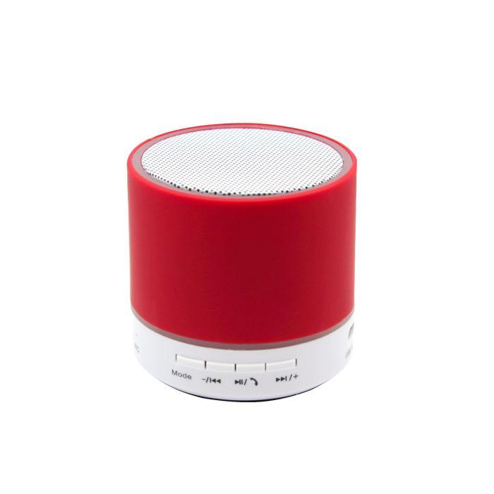 Беспроводная Bluetooth колонка Attilan - Красный PP