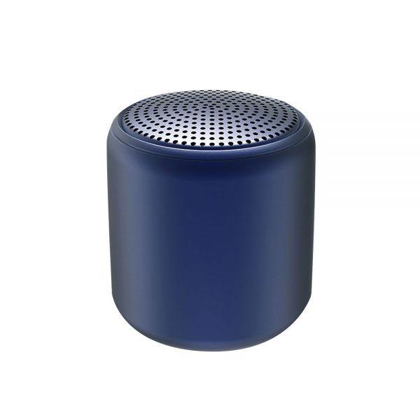 Беспроводная Bluetooth колонка Fosh - 400 mAh,тёмно-синяя