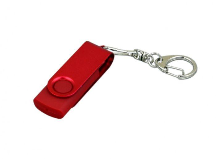 USB-Flash накопитель (флешка) из пластика, модель 031, объем памяти 128 Gb, цвет зелёный