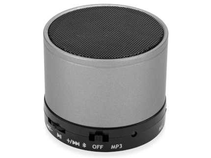 """Беспроводная колонка """"Ring"""" с функцией Bluetooth, серая"""
