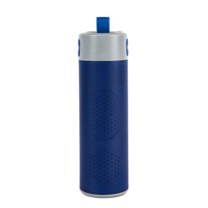 """Bluetooth колонка с зарядным устройством (2000mAh) и моноподом """"Turbo Tube"""", цвет синий"""
