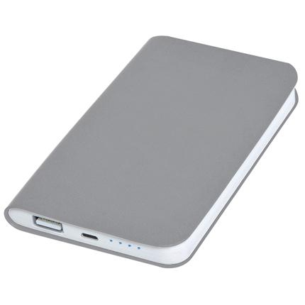 """Универсальное зарядное устройство """"Softi"""" (4000mAh), цвет серый"""